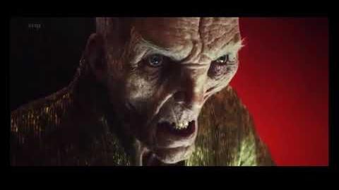 Star Wars The Last Jedi Snoke Death Scene