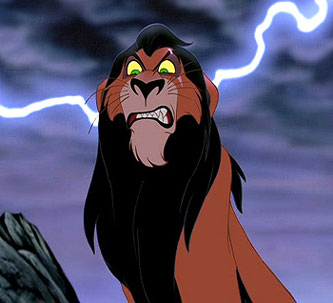 Disney scar from lion king