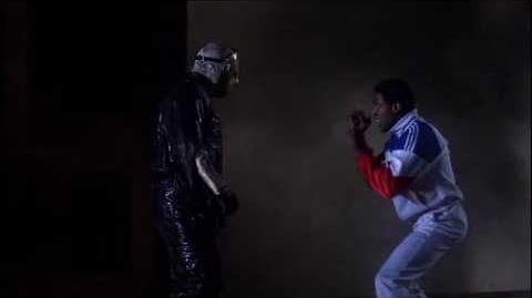Julius' death scene - Head punch - Jason Takes Manhattan