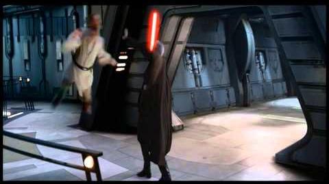 Anakin & Obi-Wan vs Count Dooku