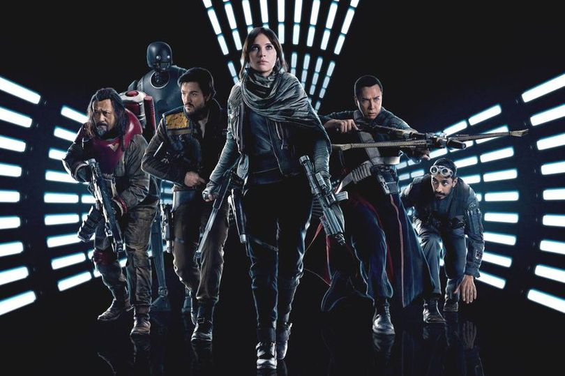 Image result for Rogue one team