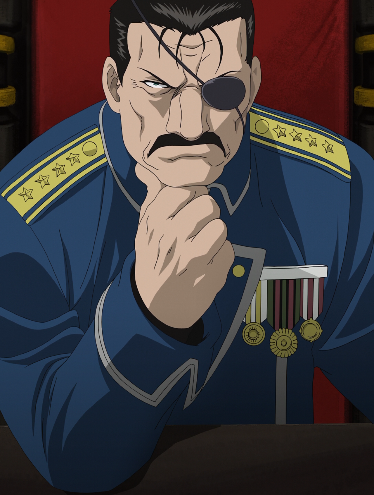 Image result for fullmetal alchemist Fuhrer Bradley