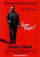 Ocean's Twelve - Frank Catton Charakterposter
