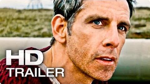 DAS ERSTAUNLICHE LEBEN DES WALTER MITTY Trailer 2 Deutsch German 2014 Ben Stiller HD