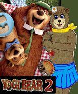 Yogi Bear 2 2017 Yogi Boo Boo and Cindy