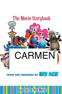 Carmen Movie Storybook cover