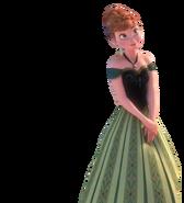 Anna's cortonation gown