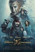 Pirates of the Caribbean - Dead Men Tell No Tales Poster