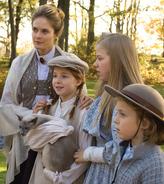 Anne mit der Thomas Familie