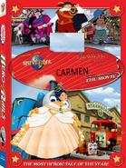 DVD cover of Carmen