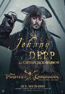 Salazars Rache - Jack Sparrow Charakterposter