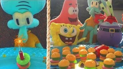 Spongebob Squarepants Gummy Krabby Patties Commercial