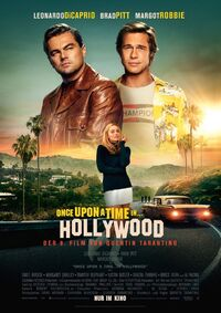 Once Upon a Time in Hollywood Kinoposter