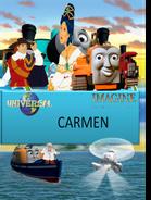 Imagine Entertainment presents Carmen dvd cover (remake)