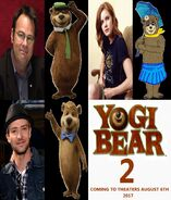 Yogi Bear 2 2017 New Voice Cast