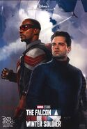 The Falcon and the Winter Soldier D23 Poster