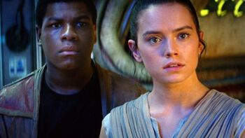 Rey Finn Erwachen Der Macht Star Wars