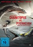 Sharktopus vs Pteracuda DVD Artwork