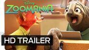 ZOOMANIA - Offizieller Trailer (German deutsch) - Disney HD
