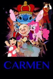 Tim Burton's Carmen poster