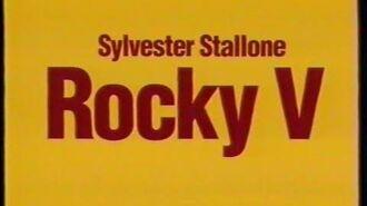 Rocky V (1990) - DEUTSCHER TRAILER