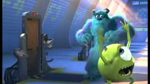 Monsters Inc - Put That Thing Back Where It Came From blooper