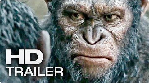 PLANET DER AFFEN Revolution Final Trailer Deutsch German 2014 Movie HD-0