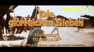DIE GLORREICHEN SIEBEN 1960 - Deutscher Trailer