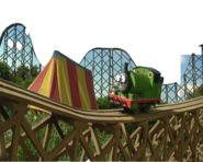 Percy the Roller Coaster