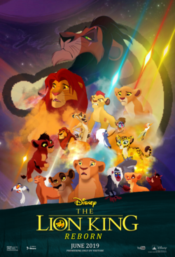 The lion king reborn international poster 1