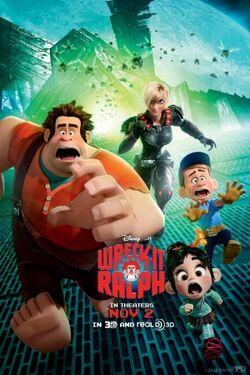 Wreck-It Ralph poster 2
