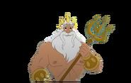 King Triton in The Little Mermaid II