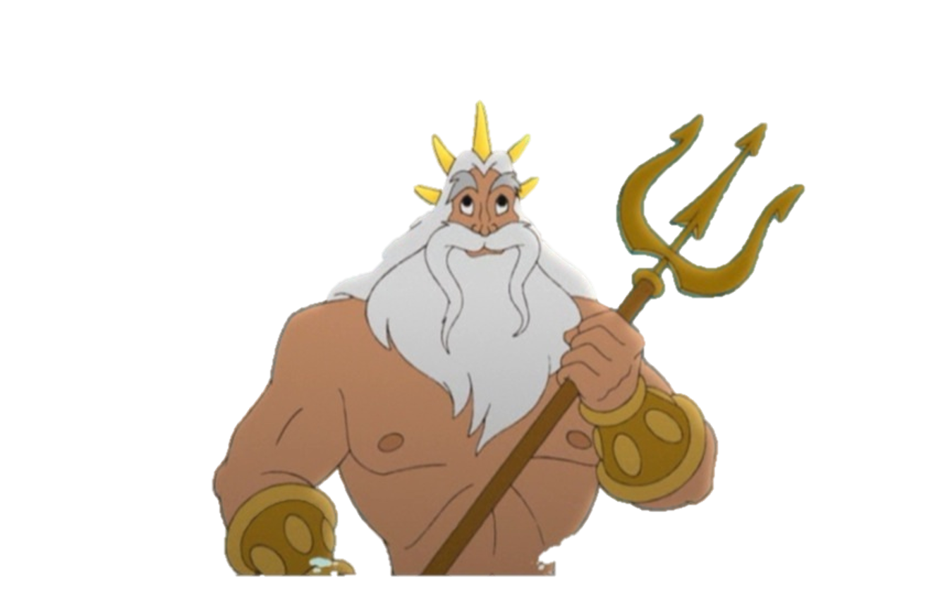King Triton In The Little Mermaid II