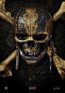 Pirates of the Caribbean - Dead Men Tell No Tales Teaserposter