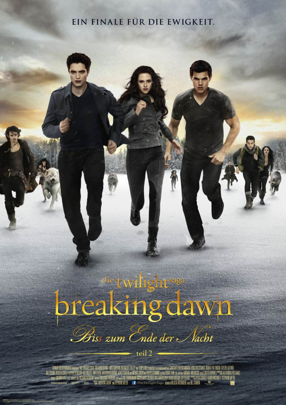 Breaking Dawn – Bis(S) Zum Ende Der Nacht – Teil 2 Besetzung