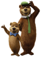 Yogi Bear and Boo Boo Bear (CGI)