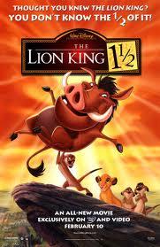 Lion king 3 poster 1