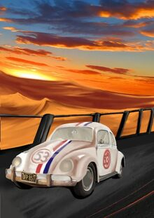 Herbie- One Last Ride poster