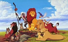 Lion king characters 1