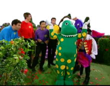 The Wiggles and their friends