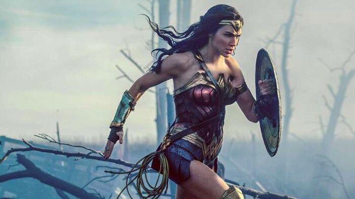 Wonderwoman Wettrennen