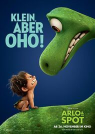 AUS Character-Poster Arlo-und-Spot