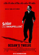 Ocean's Twelve - Terry Benedict Charakterposter