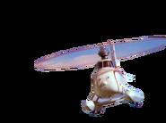 Harold flying
