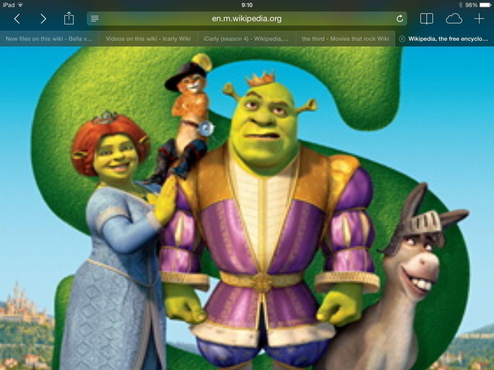 Shrek The Third Movies That Rock Wiki Fandom