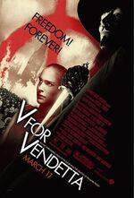 Plakat V jak Vendetta