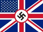Zakazana flaga z V jak Vendetta