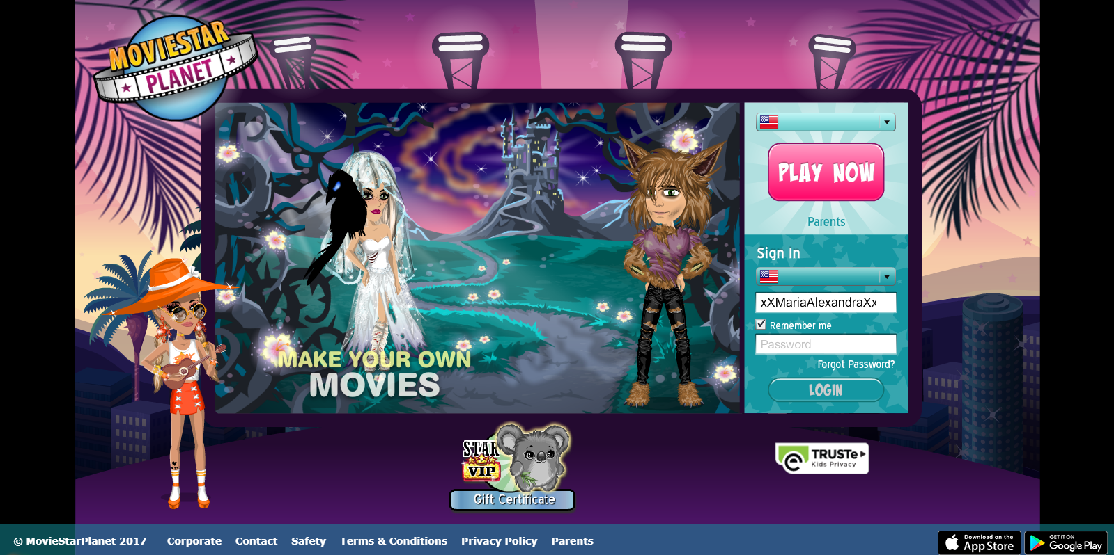 Landing Page | MovieStarPlanet Wiki | FANDOM powered by Wikia