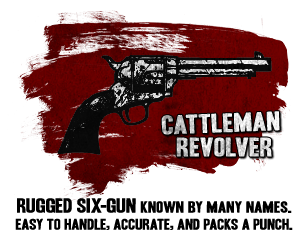 image cattleman revolver png movie weapon wiki fandom powered