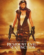 Resident evil extinction cover